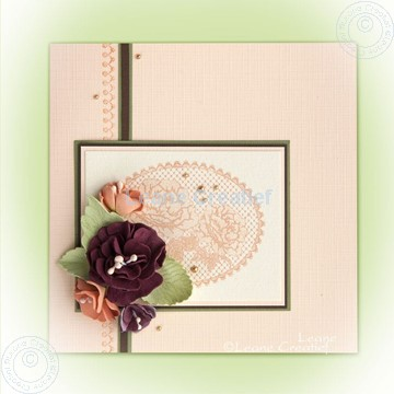 Afbeeldingen van Foam flowers & lace clearstamps
