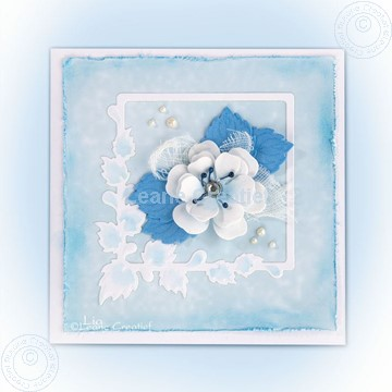 Bild von Blossom using set 2 blue violet