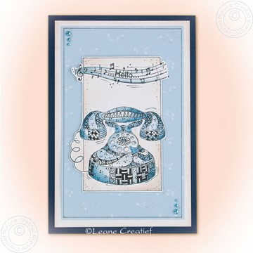 Image de Doodle stamp Telephone