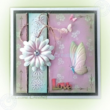 Bild von Multi flower 009 & Butterfly