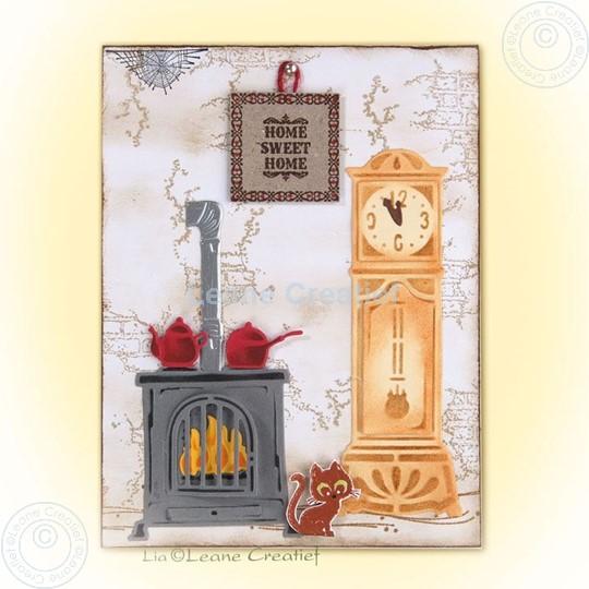 Afbeelding van Stove & clock