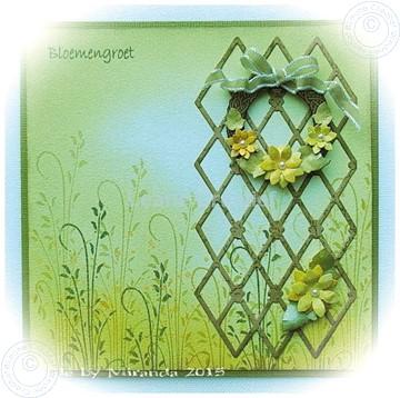 Image de Wreath with flowers