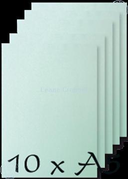 Afbeeldingen van Papier A5 Ice Aqua 200 gr