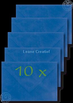 Afbeeldingen van Enveloppen 12x17,5cm d.blauw