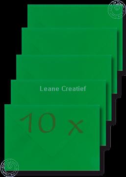 Afbeeldingen van Enveloppen 12x17,5cm groen