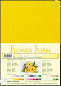 Picture of Flower foam A4 sheet sunflower yellow