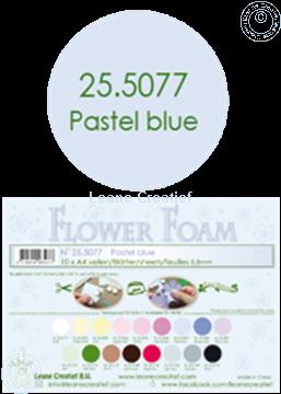 Picture of Flower foam A4 sheet pastel blue