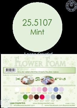 Picture of Flower foam A4 sheet mint