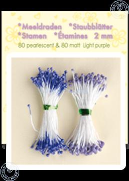 Image de Étamines ± 80 matt & 80 pearl light purple