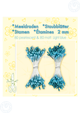 Picture of Stamen ± 80 matt & 80 light blue