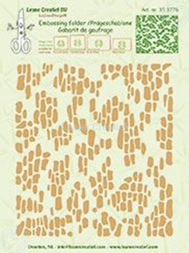 Afbeeldingen van Embossing folder Background Pebbles wall