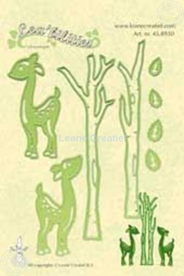 Image sur Lea'bilities deer & trees