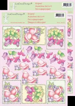 Bild von LeCreaDesign® Blumen Ausschneideblätter