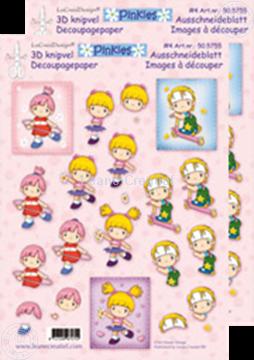 Bild von Ausschneideblatt Pinkies #4