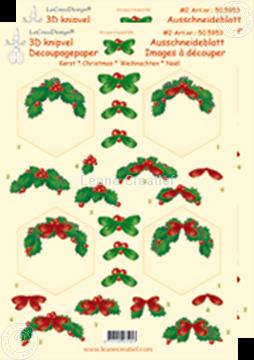 Image de Images à découper de Noël hexagone
