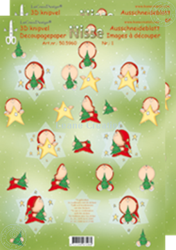 Image de Étoile de Noël 3D Nisse #1