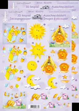 Afbeeldingen van LeCreaDesign® knipvellen baby