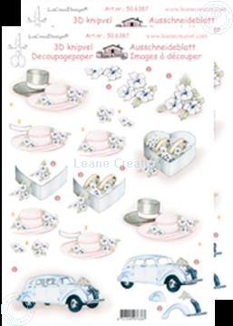 Afbeeldingen van LeCreaDesign® knipvellen huwelijk