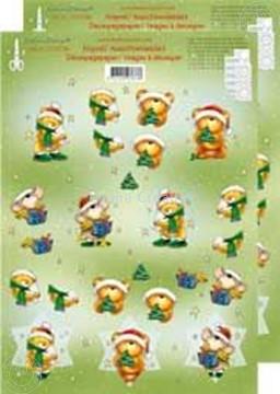 Image de Ours de Noël 3D petits