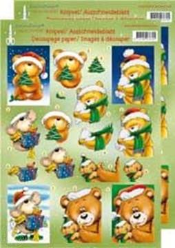 Afbeeldingen van Kerstbeer 3D groot