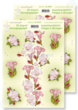 Picture of LeCreaDesign® decoupage papers flowers