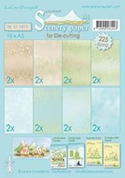 Afbeeldingen van Scenery papers A5 225 grm