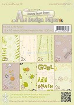 Afbeeldingen van Design paper Sport
