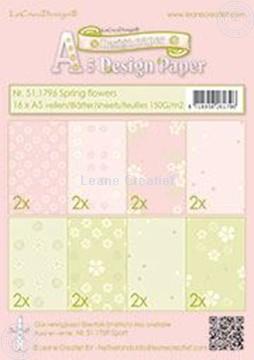 Image de Design paper Spring flowers