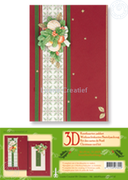 Picture of Christmas card kit 3D red
