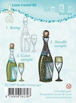 Afbeeldingen van Doodle Champagne