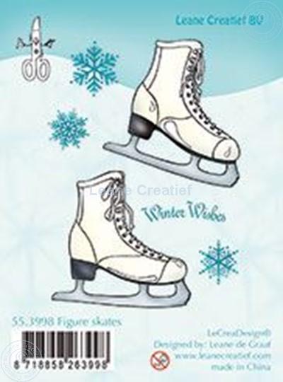 Image sur Clear stamp Figure skates