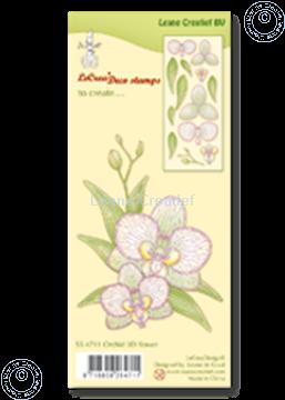 Image de Clear stamp Orchid 3D flower