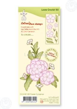Picture of Clear stamp 3D flower Carnation