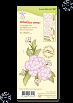 Image de Clear stamp 3D flower Carnation