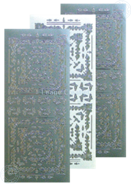 Image de LeCreaDesign® Sticker de broder argent