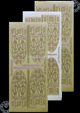 Picture of LeCreaDesign® church window sticker pearl gold