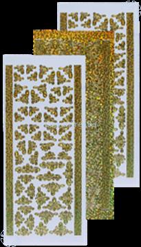 Afbeeldingen van Stickers diamond goud