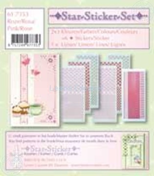 Picture of Star-Sticker set pink