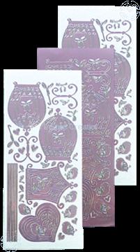 Afbeeldingen van LeCreaDesign® sticker vogelkooitjes mirror candy