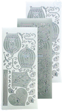 Image de LeCreaDesign® sticker de volière silver
