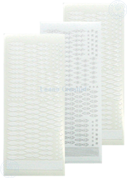 Picture of Star Sticker Christmas white