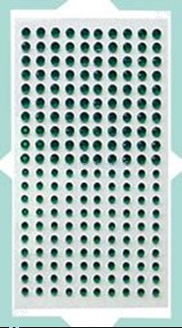 Picture of LeCreaDesign® Adhesive rhinestones green