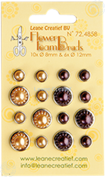Picture of Pearl brads yellow/brown