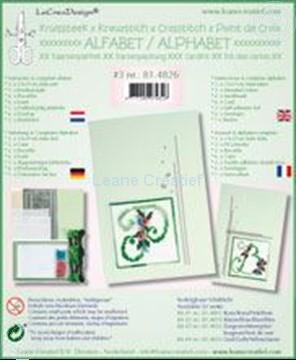Image de Alphabet point de croix kit de cartes avec perles #3
