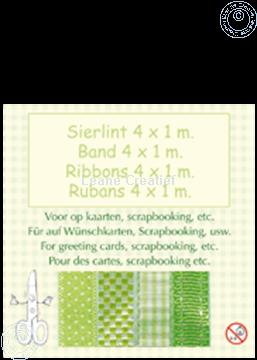 Afbeeldingen van Lint 4x1 m groen