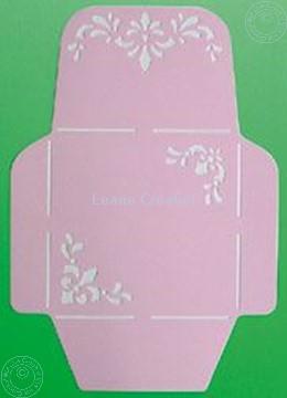 Image de LeCreaDesign® Pochoir d'enveloppe 14,5x14,5cm