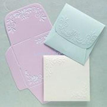 Image de LeCreaDesign® Pochoir d'enveloppes 12,5x12,5cm