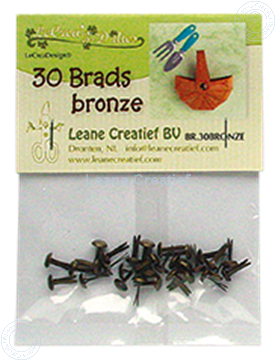 Picture of 30 Brads bronze 5mm