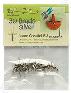 Picture of 30 Brads silver 5mm