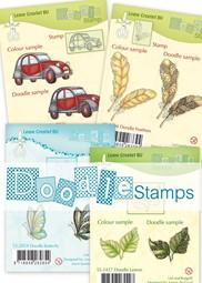 Image de la catégorie Doodle stamps